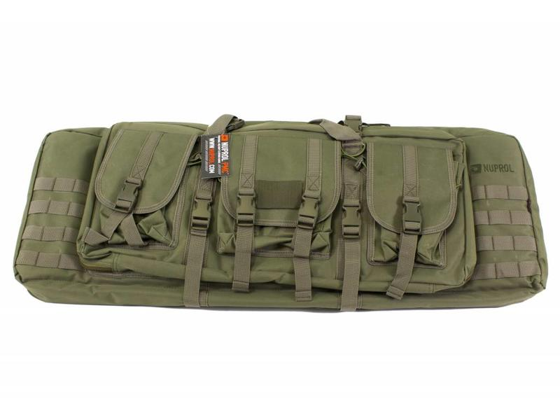 "Nuprol PMC Deluxe Soft Rifle Bag 36"" Green"