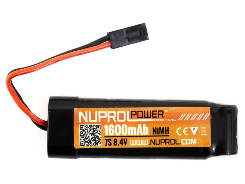 Nuprol Power 1600MAH 8.4V Nimh Small Type