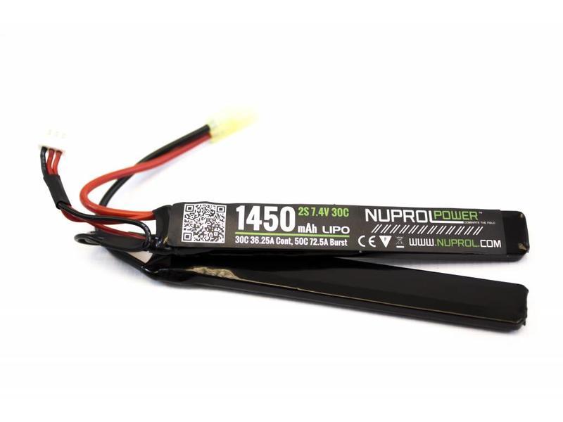 Nuprol Power 1450MAH 7,4V 30C Nunchuck Type