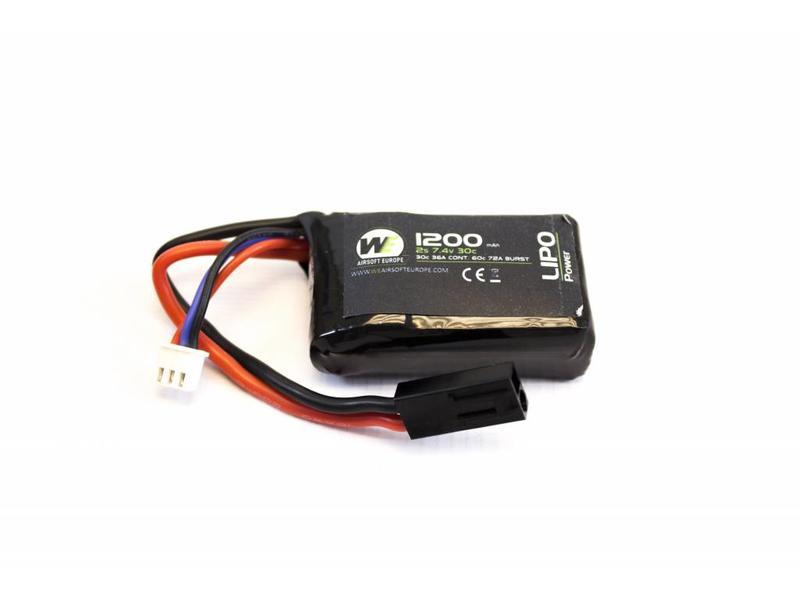 Nuprol Power 1200MAH 7.4V 30C Lipo PEQ15 Micro Type