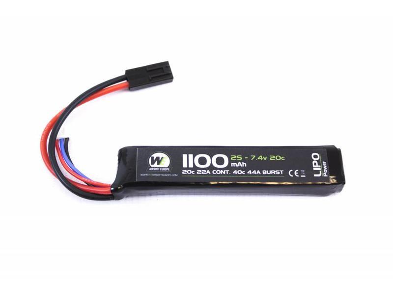 Nuprol Power 1100MAH 7.4V 20C Stick type