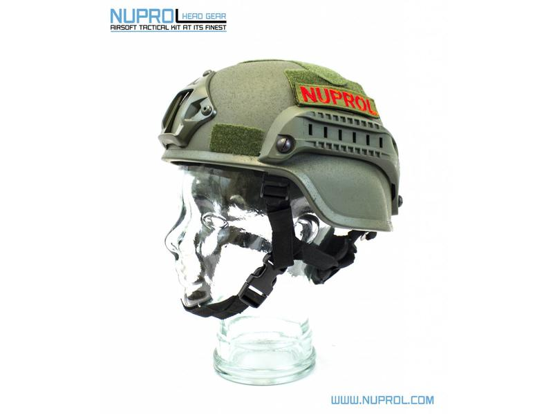 Nuprol Mich 2000 Railed Helmet