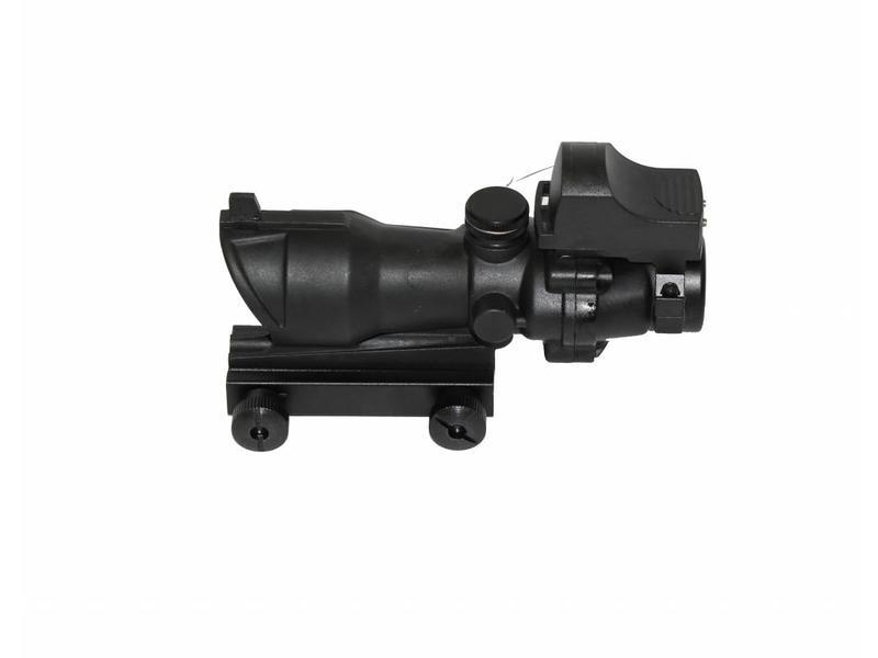Nuprol Cog 4x32 + RD Sight Black