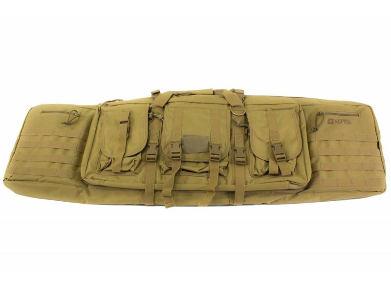 "Nuprol PMC Deluxe Soft Rifle Bag 46"" Tan"