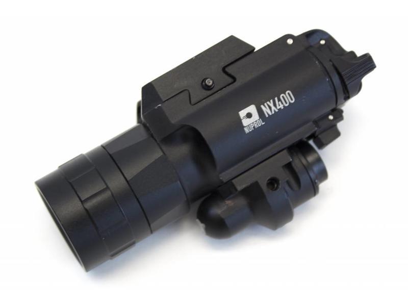 Nuprol NX400 Pistol Torch & Laser