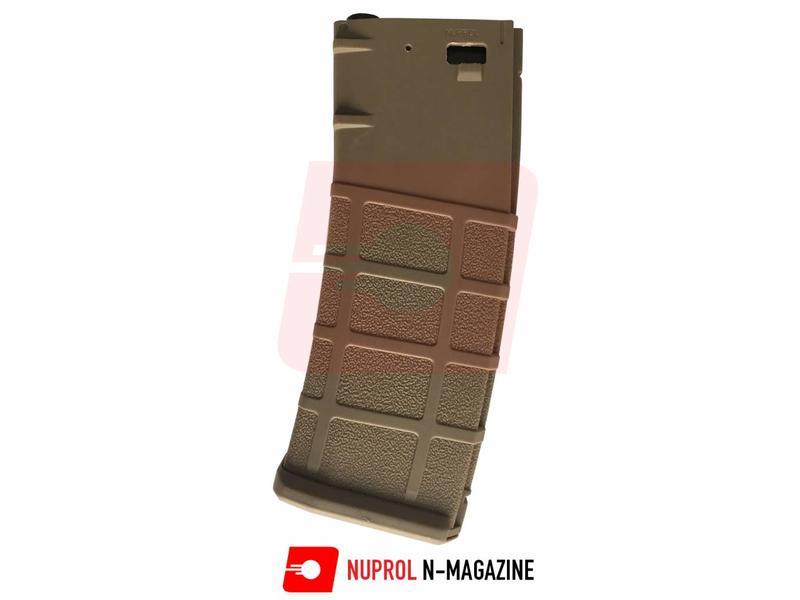 Nuprol N-Mag Hi-cap 350rds Tan