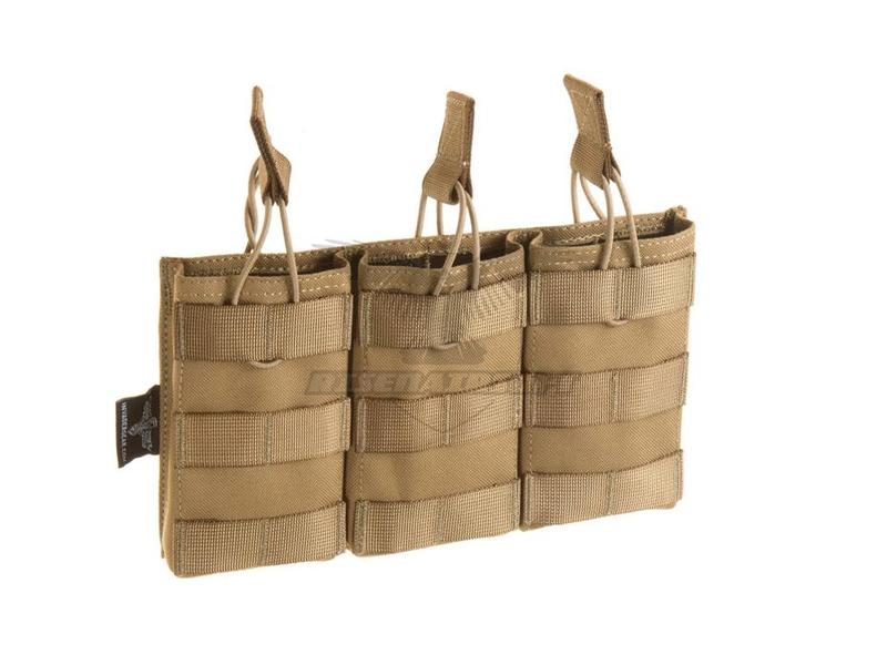 Invader Gear 5.56 Triple Direct Action Mag Pouch Coyote
