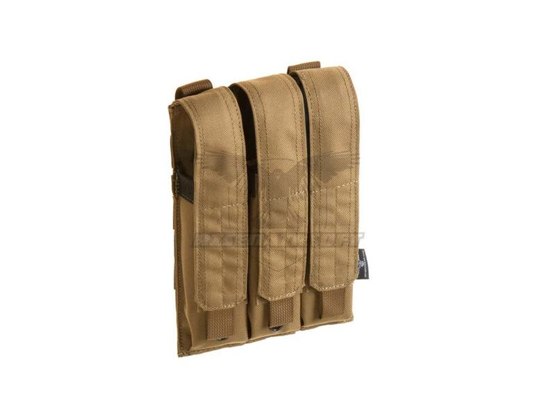 Invader Gear MP5 Triple Mag Pouch Coyote
