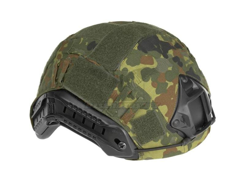 Invader Gear Fast Helmet Cover Flecktarn