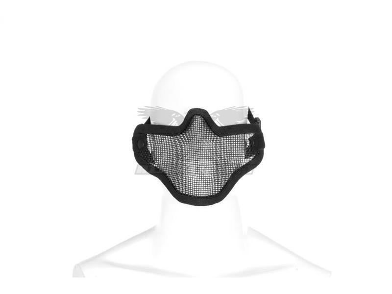 Invader Gear Steel Half Face Mask Zwart