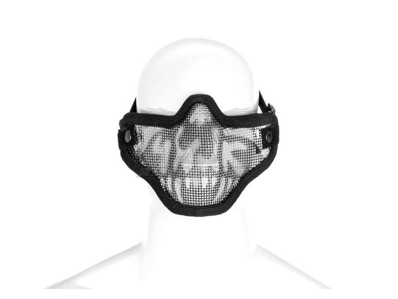 Invader Gear Steel Half Face Mask Death Head