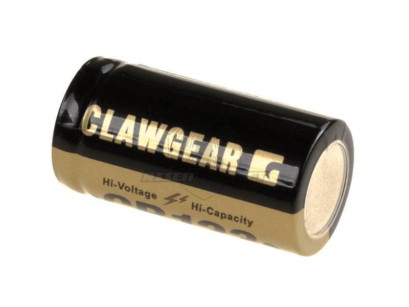 Clawgear CR123 Lithium 3V