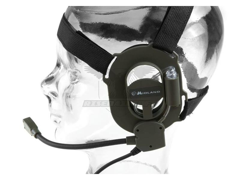 Midland Bow M Military Headset Midland Connector