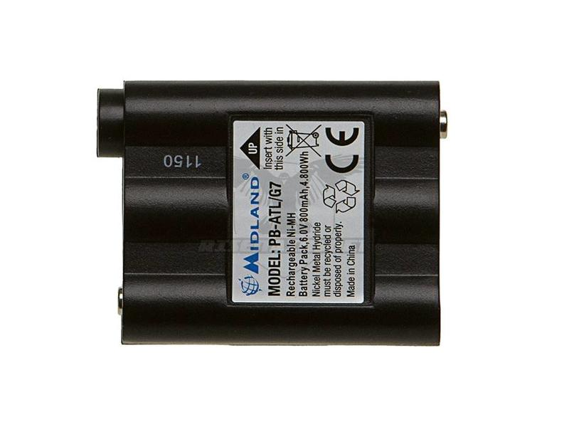 Midland G7 800mAh Battery