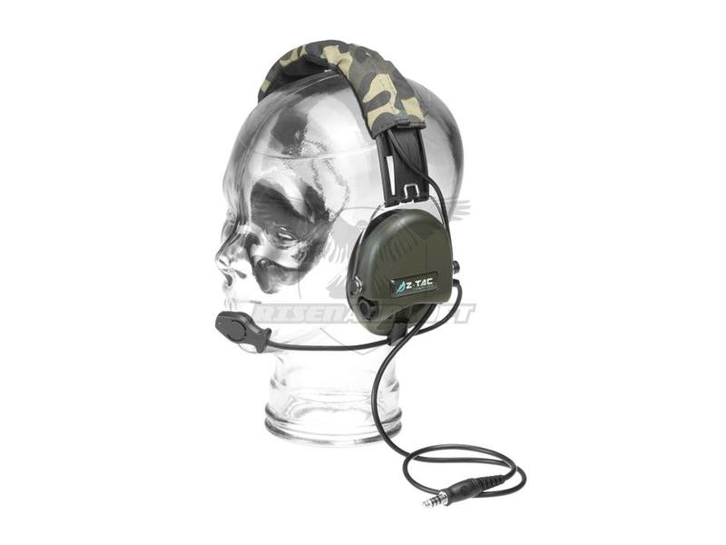 Z-Tactical SRD Headset Military Standard Plug