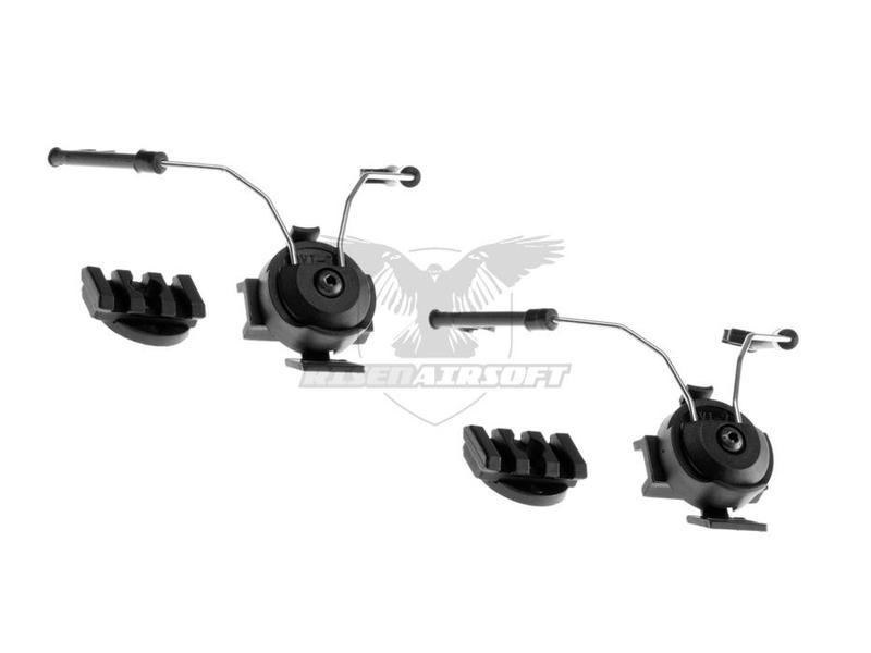 Z-Tactical Comtac Helmet Rail Adapter Set Zwart