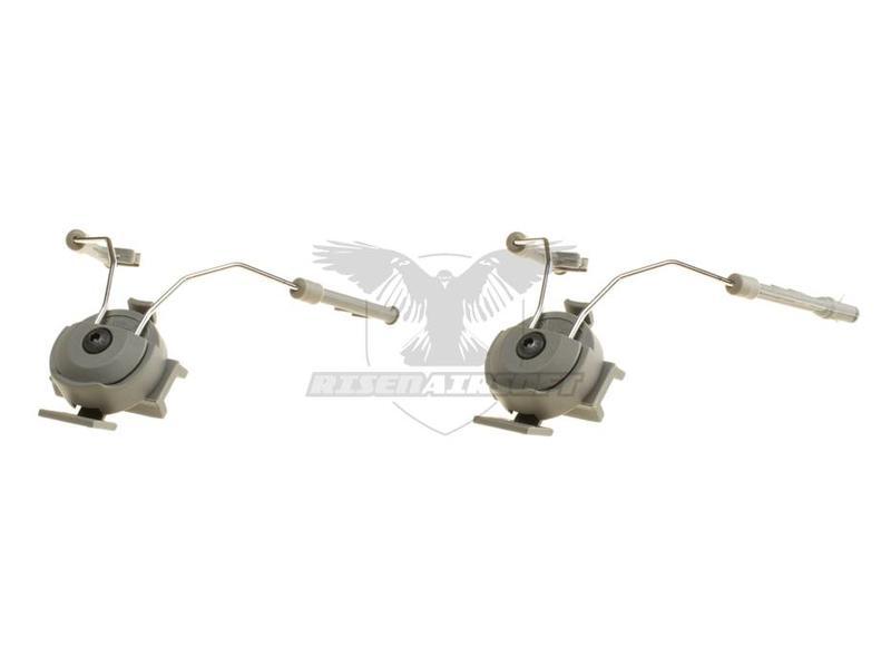 Z-Tactical Comtac Helmet Rail Adapter Set Green