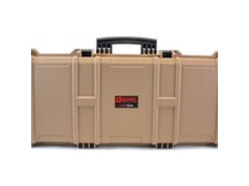Nuprol Large Hard Case Tan (Pick and Pluck)
