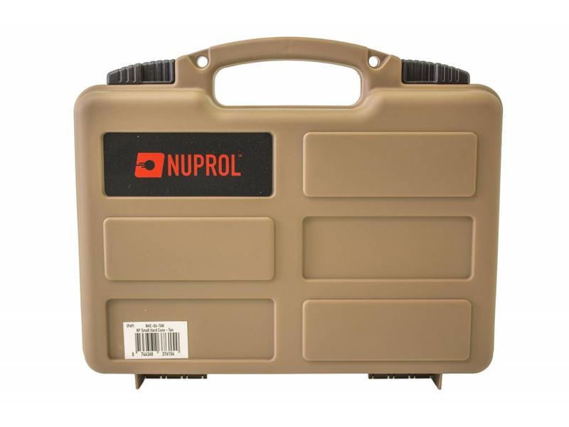 Nuprol Small Hard Case Tan Wave Foam