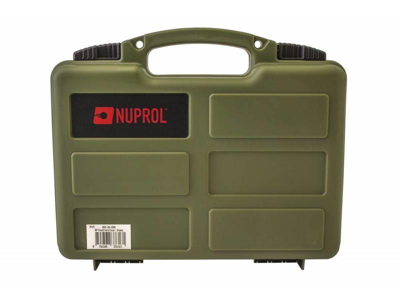 Nuprol Small Hard Case Green Wave Foam