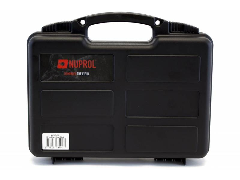 Nuprol Small Hard Case Black Pick and Pluck