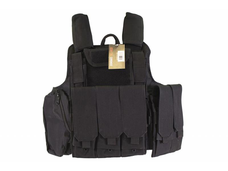 Nuprol RTG Tactical Vest - Zwart