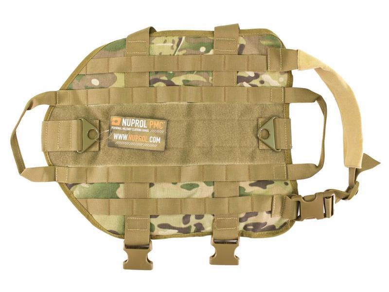 Nuprol Tactical Dog Vest - NP Camo