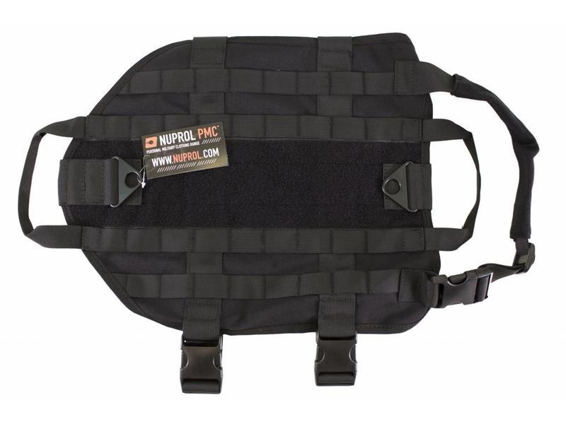 Nuprol Tactical Dog Vest - Zwart
