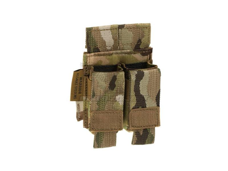 Warrior Direct Action Double Pistol Mag Pouch 9mm