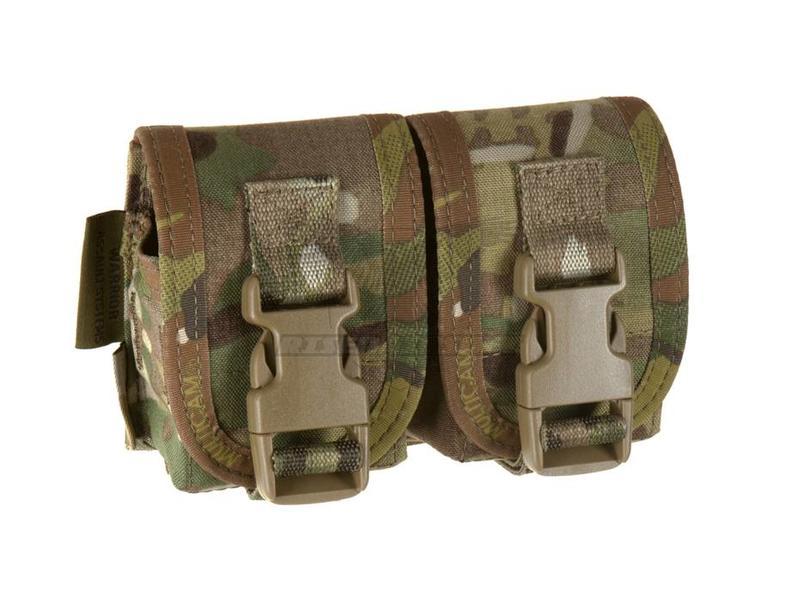 Warrior Double Frag Grenade Pouch Multicam