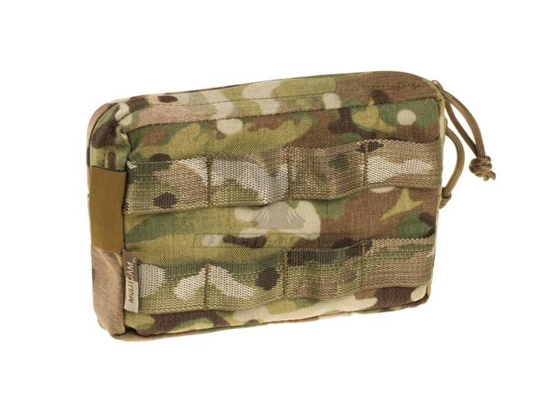Warrior Small Horizontal MOLLE Pouch Zipped Multicam