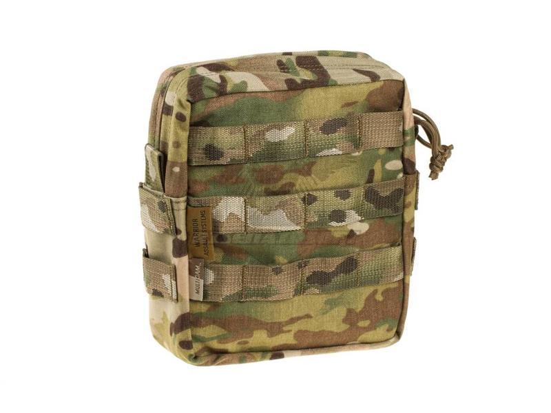 Warrior Medium MOLLE Utility Pouch Zipped