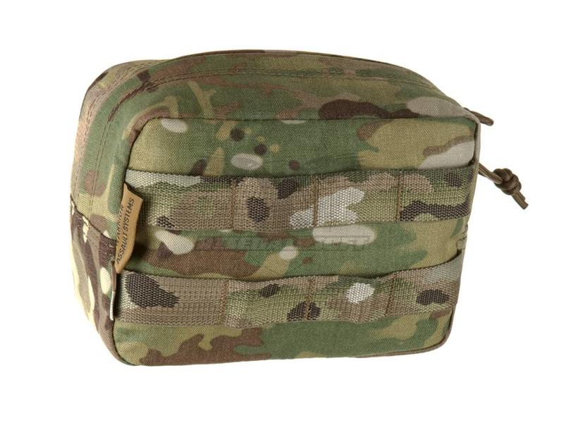 Warrior Horizontal Utility Pouch Zipped