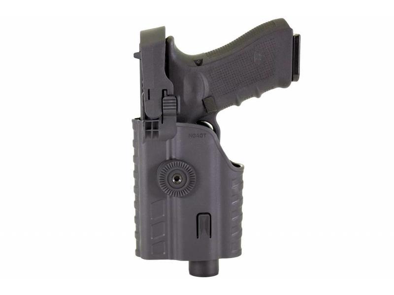 Nuprol EU Series, Glock Light Bearing Holster Zwart