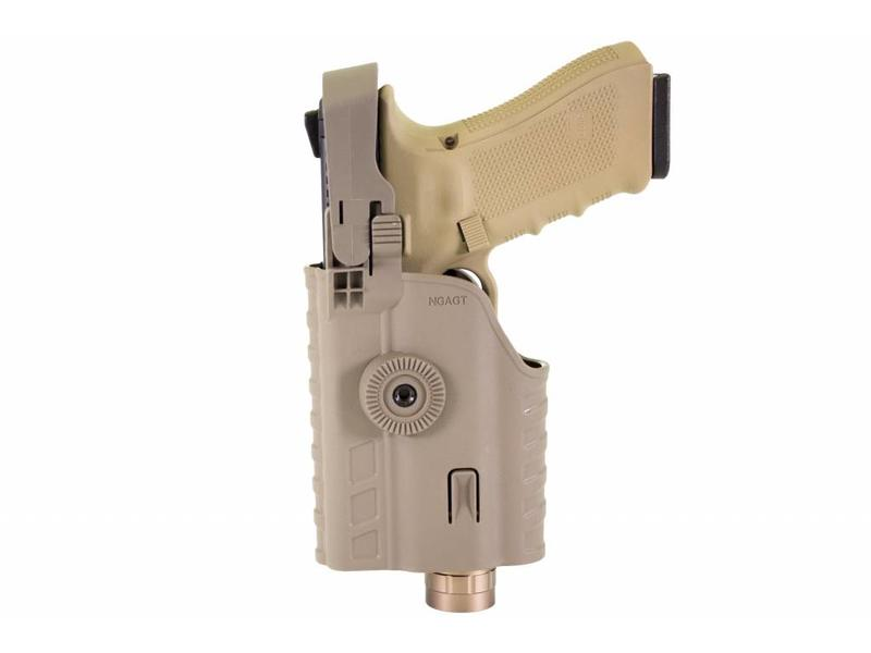 Nuprol EEU Series, Glock Light Bearing Holster Tan