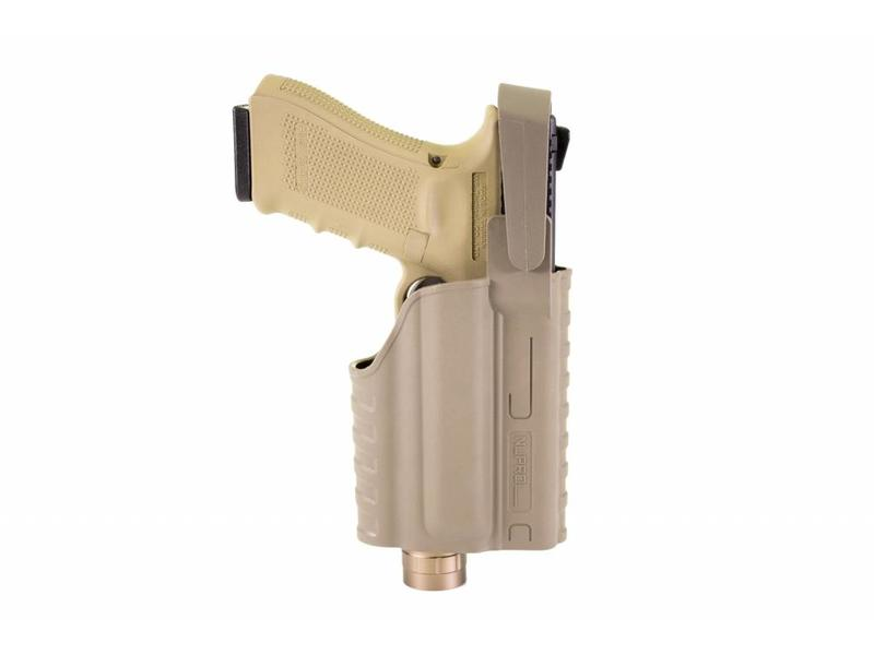Nuprol EU Series, Glock Light Bearing Holster Tan