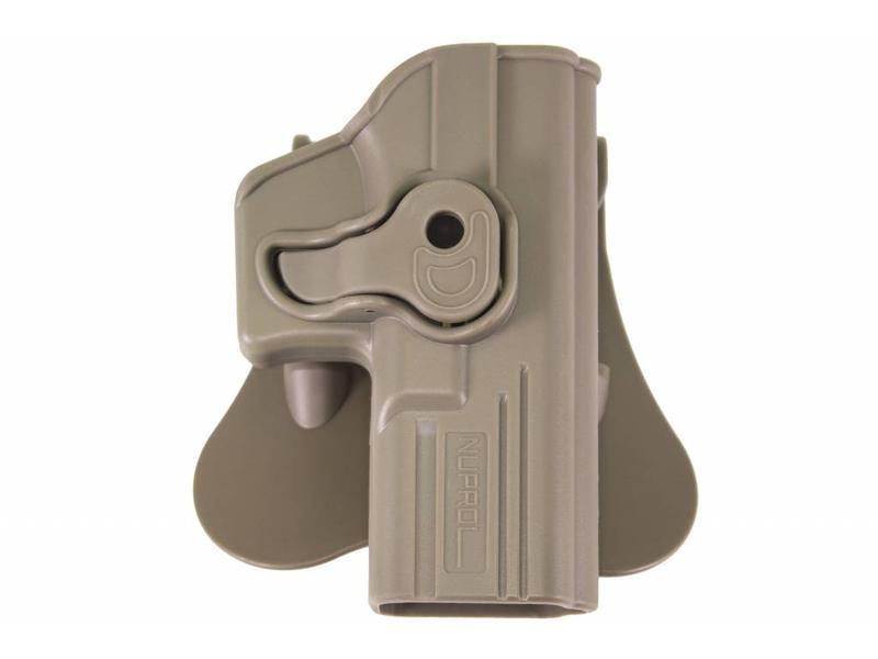 Nuprol EU (Glock) Series Holsters Tan