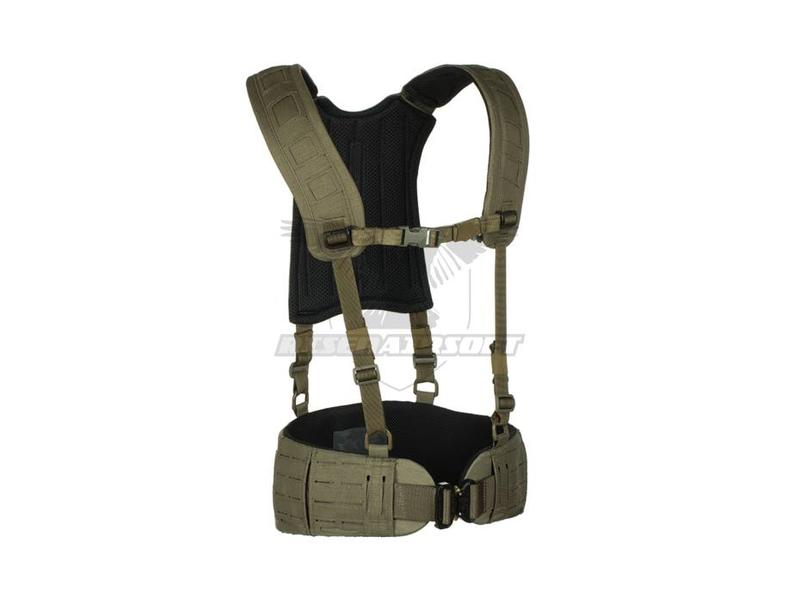 Templar's Gear 4-Point H-Harness Ranger Green