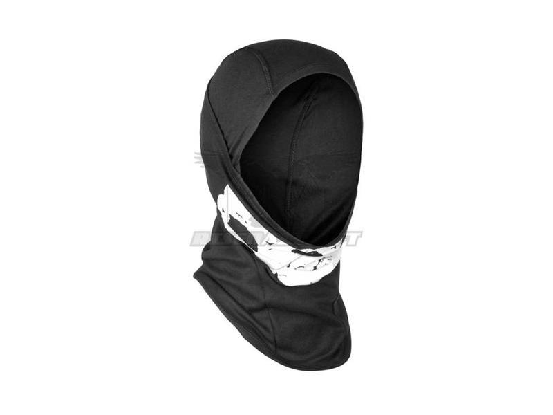 Invader Gear MPS Death Head Balaclava Black