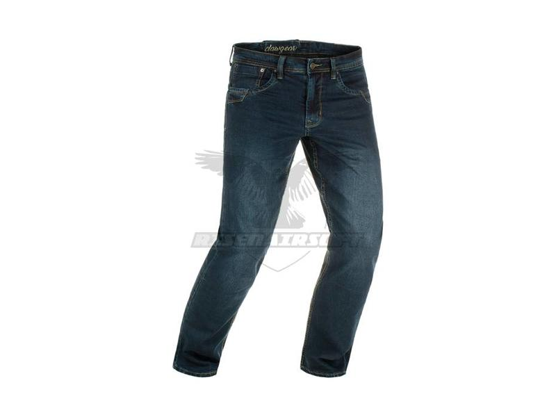 Claw Gear Blue Demin Tactical Flex Jeans Midnight Washed