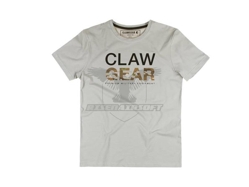 Claw Gear MC Tee Light Grey