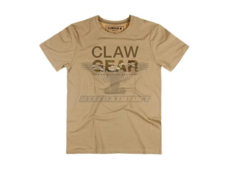 Claw Gear MC Tee Light Khaki