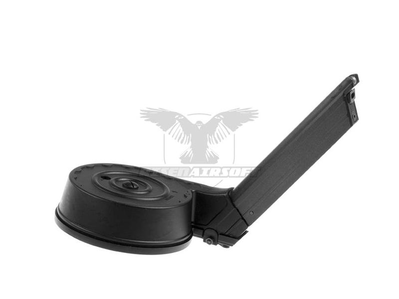WE Drum Mag P08 GBB 50rds