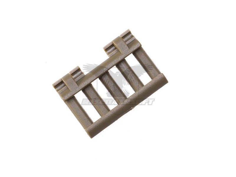 Element 5-Slot Rail Cover with Wire Loom