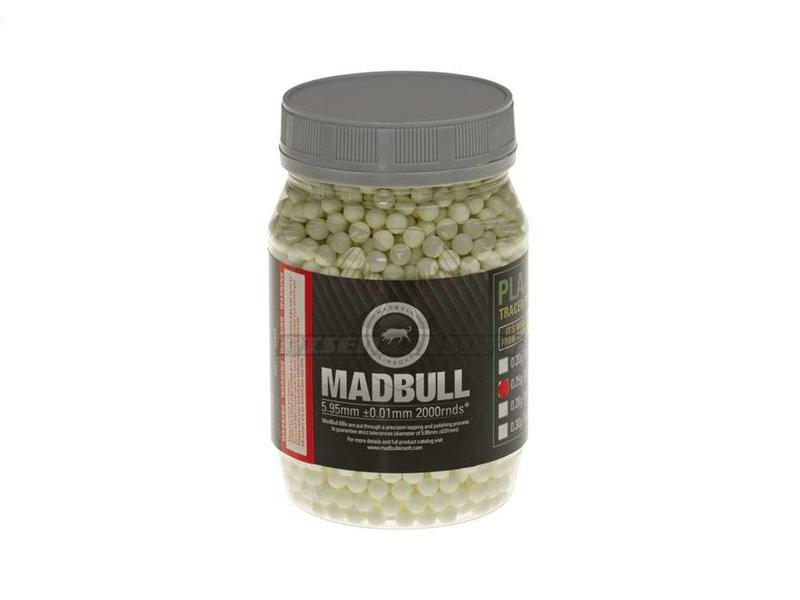 Madbull .25 PLA Tracer BB's 2000rds