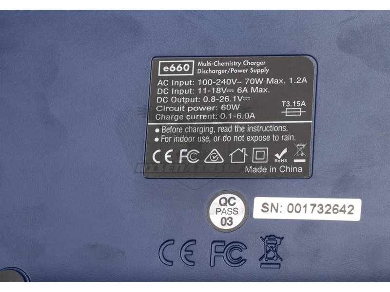 Nimrod e660 Multi-Chemistry Charger