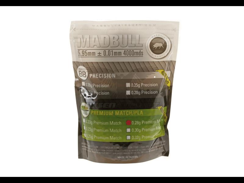 Madbull 0.28g Bio Premium Match Grade PLA 4000rds