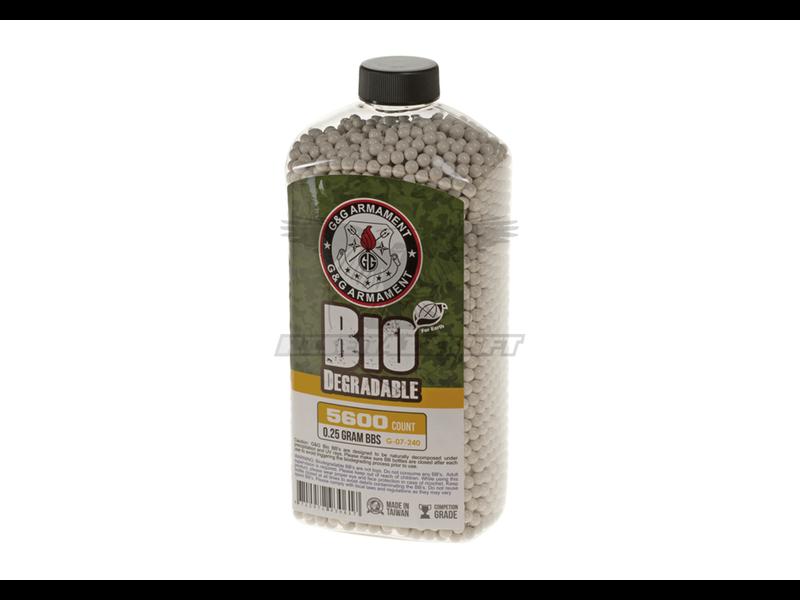 G&G 0.25g Bio Precision BBs 5600rds