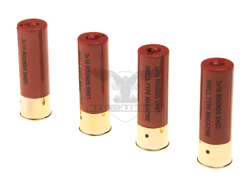 ASG Shells M3 Shotgun 4pcs 30rds