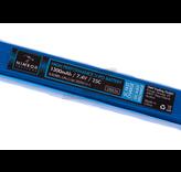Nimrod Lipo 7.4V 1300mAh 25C Stock Tube Type
